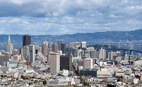 Donde dormir en San Francisco, junto a los grandes rascacielos por ejemplo.
