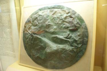 Escudo de un soldado de Esparta