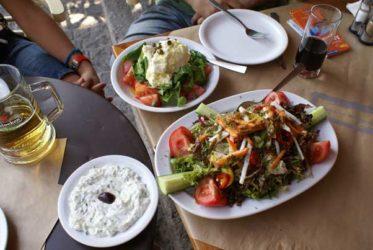 Donde comer en Atenas y su gastronomía