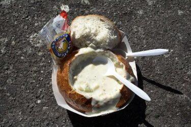 Es tradicional comer el característico pan de San Francisco, el sourdough bread
