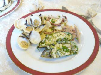 Los productos del mar son habituales de la gastronomía de Aveiro.