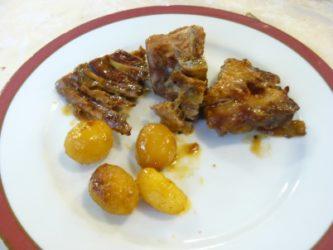 Hay muy buena carne en Aveiro, donde es típico el cordero tierno cocinado en una arcilla.