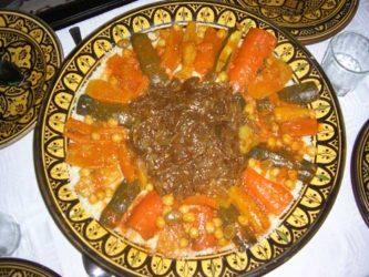 Riquísimo plato de la gastronomía marroquí