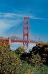 El Golden Gate Bridge es impresionante y llama mucho la atención