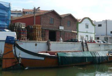 El Canal Sao Roque, donde se hallan los antiguos almacenes de sal.
