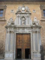 Fachada del Hospital Real de Granada