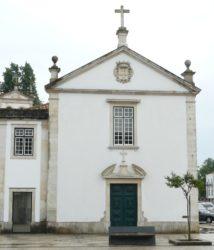 La hermosa fachada barroca de la Iglesia de la Misericordia.