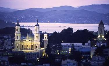 La iglesia de San Ignacio es de gran tamaño y su majestuosidad impacta al viajero