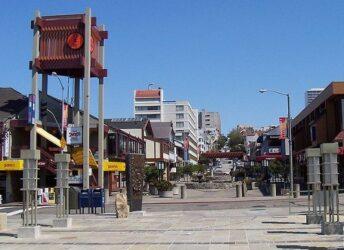 Vista de uno de los bellos rincones de Japantown.