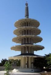 Otro atractivo de Japantown es la llamativa Pagoda de la Paz
