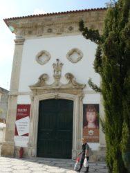 Detalle de la puerta de entrada al museo de Aveiro.