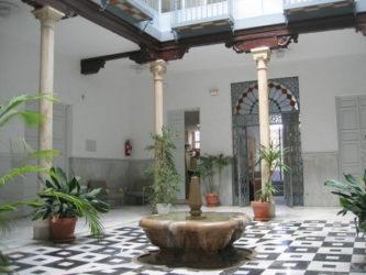 Patio del Palacio de los Condes de Gabia