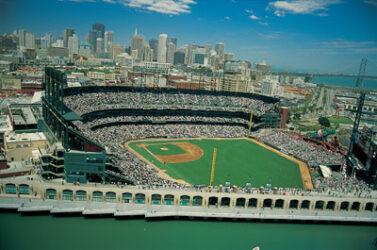 Su gran estadio de beisbol de los Giants (SBC Park)