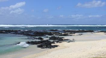 Destacan sobre el resto en esta Guía de Isla Mauricio sus aguas de color azul turquesa