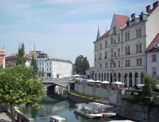 Liubliana es una bellísima ciudad ligada a su río