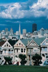 Desde Russian Hill se obtienen unas hermosas panorámicas de San Francisco