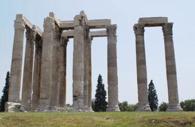 Otra perspectiva del Templo de Zeus