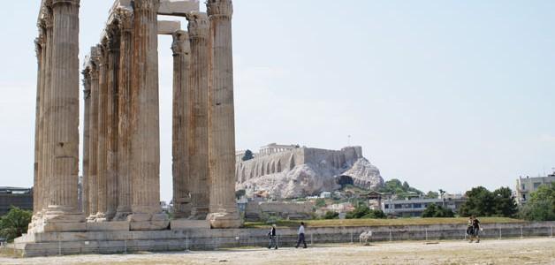 El Templo de Zeus Olímpico