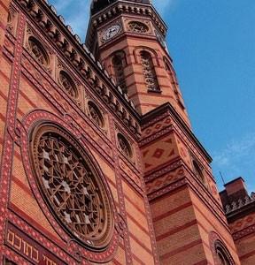 La sinagoga judía de Budapest