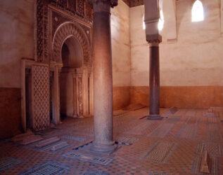 Detalle de dos de las tumbas saadies dispuestas en un bello enclave
