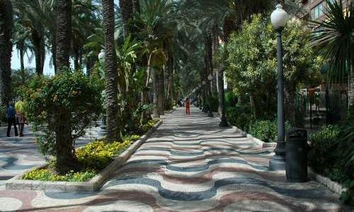 Paseo de la Explanada de Alicante