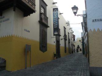 La calle Colón es una de las primeras de la ciudad de Las Palmas