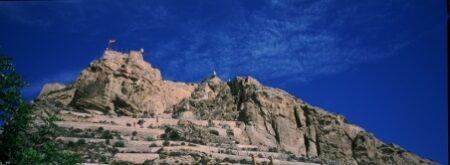 Vista del Castillo de Santa Bárbara de Alicante