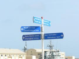 Aunque a muchos kilómetros de distancia Las Palmas está muy bien comunicada