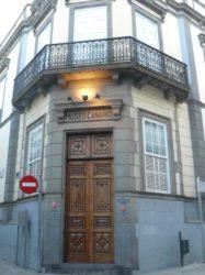 La puerta de entrada al más que interesante Museo Canario