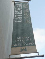 Junto a la Catedral se encuentra el interesante Museo Diocesano de Arte Sacro
