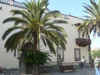 Vista de parte del popular e histórico edificio de Las Palmas
