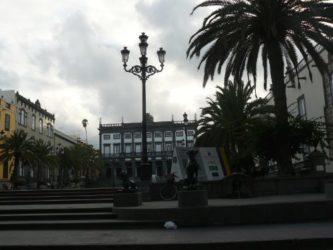 Otra perspectiva de la plaza de Santa Ana