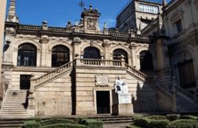 La biblioteca Menéndez Pelayo la encontramos en la ciudad de Santander