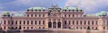 El imponente palacio de Belvedere es una de las joyas de la ciudad de Viena.