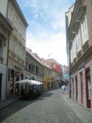 Una de las terrazas donde podemos degustar la gastronomía croata