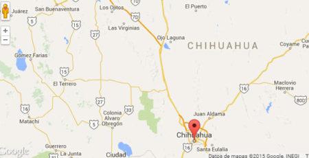 Mapa Satélite de Chihuahua